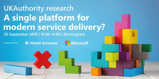 UKAuthority research: A single platform for modern service delivery?