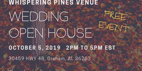 Fall Wedding Open House - Free tickets