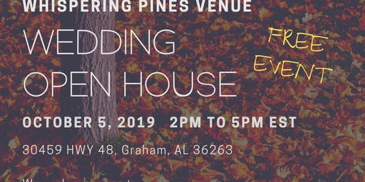 Fall Wedding Open House - Free