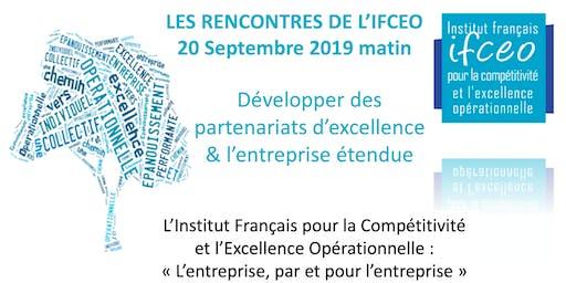 7è Rencontre IFCEO -Développer des partenariats d'excellence & l'entreprise étendue