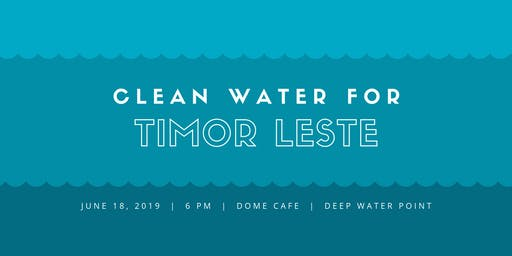 Clean water for Timor-Leste