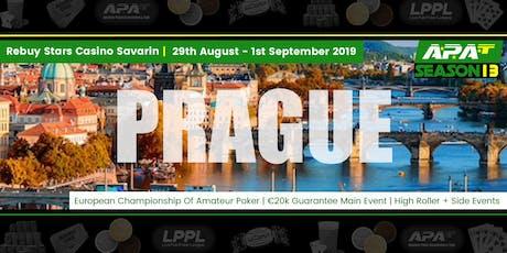 ECOAP 2019 ME Day 1B Seat Reservation (Rebuy Stars Casino Savarin, Prague) tickets