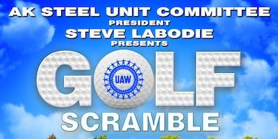 2019 AK Steel Unit Committee Golf Scramble