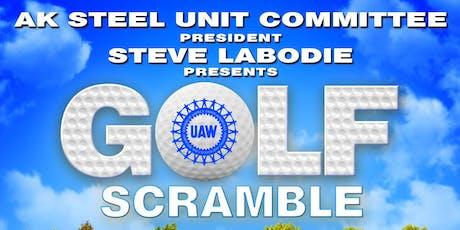 2019 AK Steel Unit Committee Golf Scramble tickets