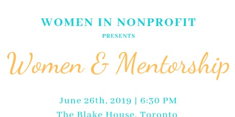 Women and Mentorship tickets