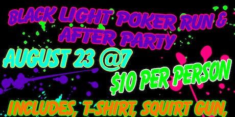 Black Light Poker Run & After Party tickets
