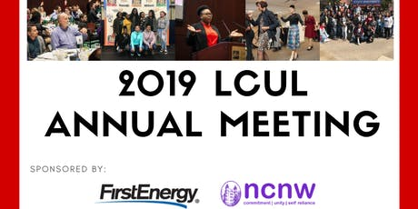 2019 LCUL Annual Meeting tickets