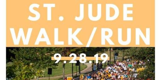 Volunteers for St. Jude Walk/Run Water Station