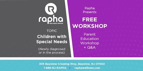 Workshop for Parents with Children with Special Needs tickets
