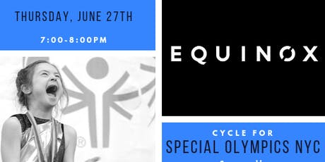 Cycle for Special Olympics New York tickets