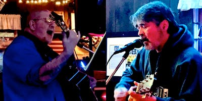Peter Quencher and Peter Dee at The Crossfire Lounge