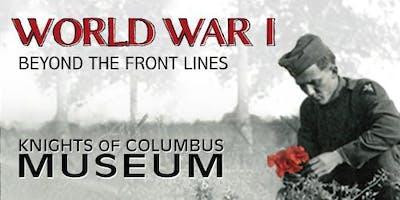 WWI exhibition tour