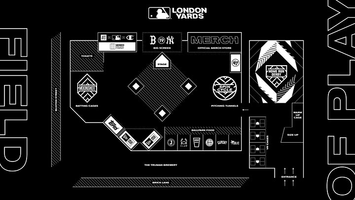 MLB London Yards - Saturday June 29 image