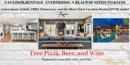 Vacation Rentals - Everything a Realtor needs to know about STVR