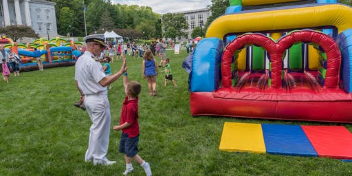 July 3rd Family Olympics on the State House Lawn
