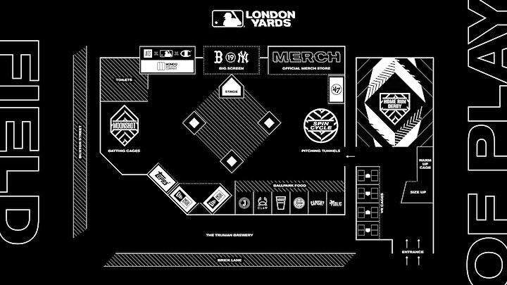 MLB London Yards - Sunday June 30 image