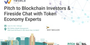 Pitch to Blockchain & ICO Investors @BNY Mellon,...