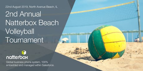 2nd Annual Natterbox Charity Beach Volleyball Tournament tickets