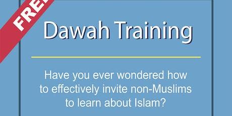 Free Dawah Training & New-Muslim Mentoring Workshops tickets