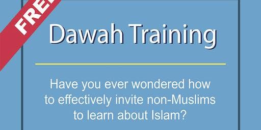 Free Dawah Training & New-Muslim Mentoring Workshops