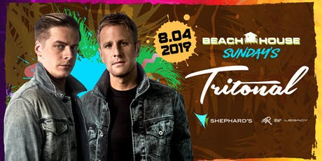 Tritonal at Beach House Sundays  tickets