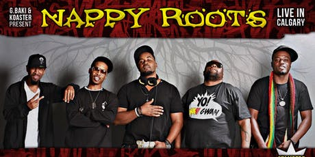 Nappy Roots Live In Calgary tickets
