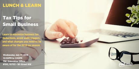 Small Business Tax Tips  tickets