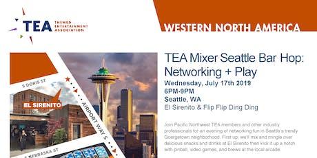 TEA Mixer - Seattle Bar Hop: Networking + Play tickets