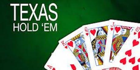 TEXAS HOLDEM Poker Night tickets