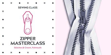 SEWING CLASS - ZIPPER MASTERCLASS tickets