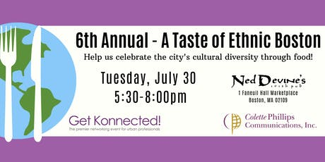A Taste of Ethnic Boston tickets