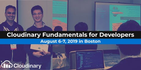 Cloudinary Fundamentals for Developers tickets