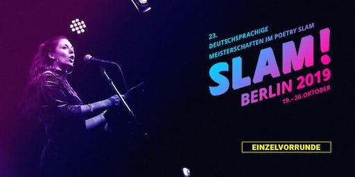 Vorrunde 1 / SLAM 2019 – Die deutschsprachigen Meisterschaften im Poetry Slam