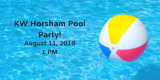 KW Horsham Pool Party!