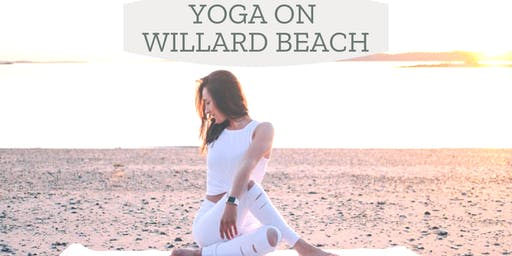 Beach Yoga at Willard Beach