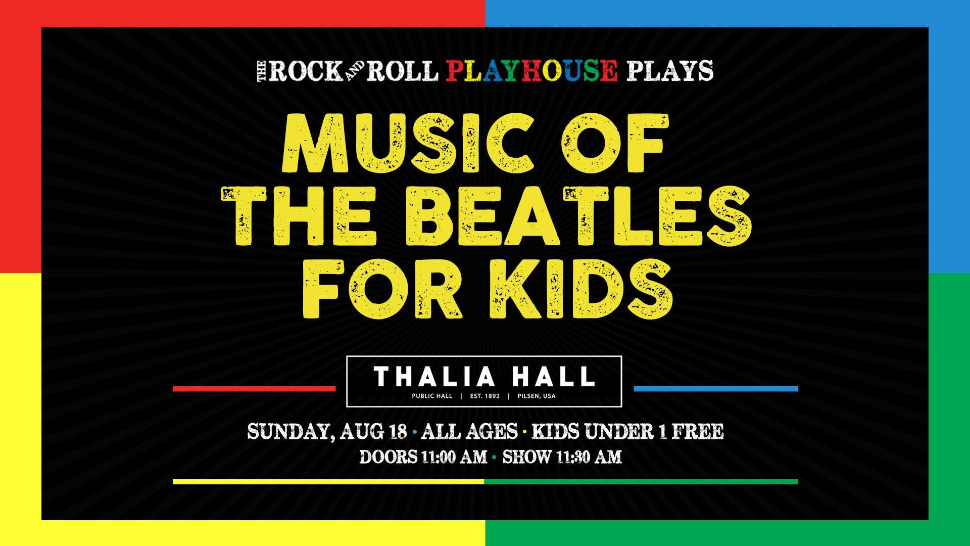 The Rock and Roll Playhouse presents: The Music of The Beatles for Kids