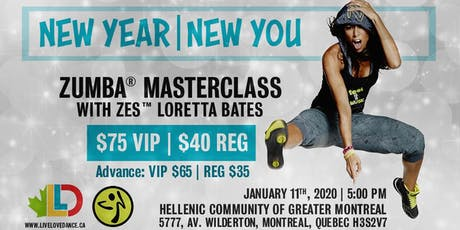 MONTREAL ZUMBA® MASTER CLASS with ZES™ LORETTA BATES billets