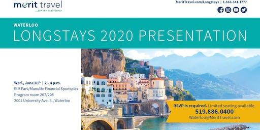 Merit Travel Longstay Program 2020 Presentation