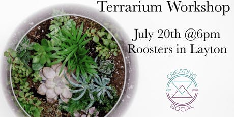 Terrarium Create Event  tickets