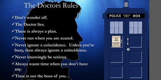 """Eat, Play, Mingle Meetup Present's:  The Doctor's """"Rules"""""""