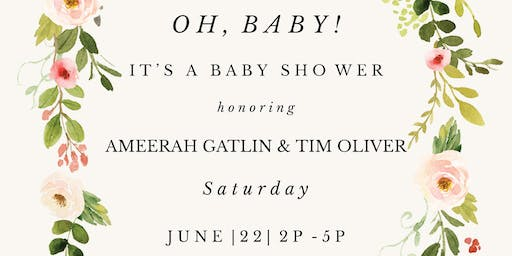 Ameerah & Tim's Baby Shower