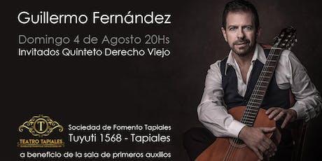 Guillermo Fernández entradas