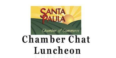 Santa Paula Chamber Chat Luncheon tickets