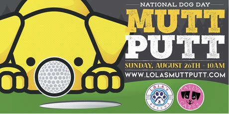 National Dog Day Mutt Putt tickets