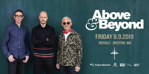 Above & Beyond | 8.9.19 | 10:00 PM | 21+