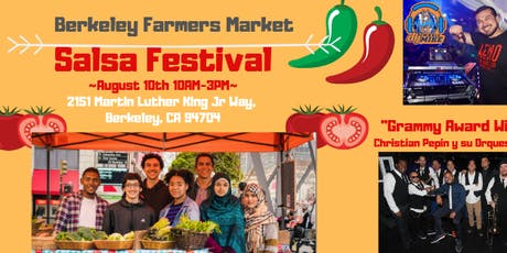 Berkeley Farmers Market Salsa Festival tickets