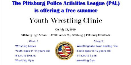 PAL Wrestling Clinic 1 tickets