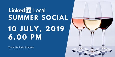 LinkedIn Local Hillingdon Summer Social tickets