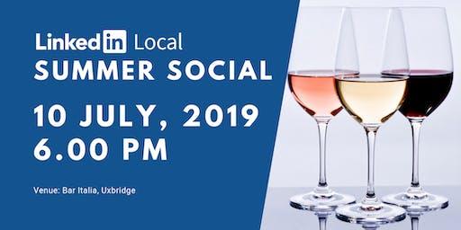 LinkedIn Local Hillingdon Summer Social