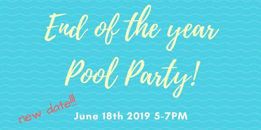 Noar Tzair - End of the Year Pool Party